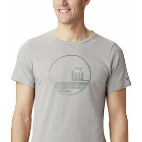 Columbia Bluff Mesa Graphic T-Shirt Homme, columbia grey outdoor relief